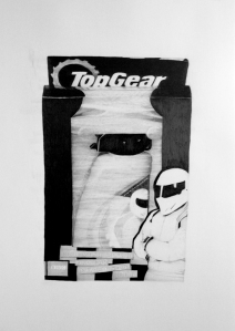 Top Gear Body wash and car shaped soap